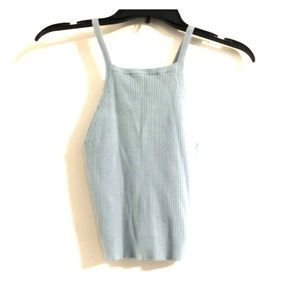 Brandy Melville Baby Blue Sweater Tank